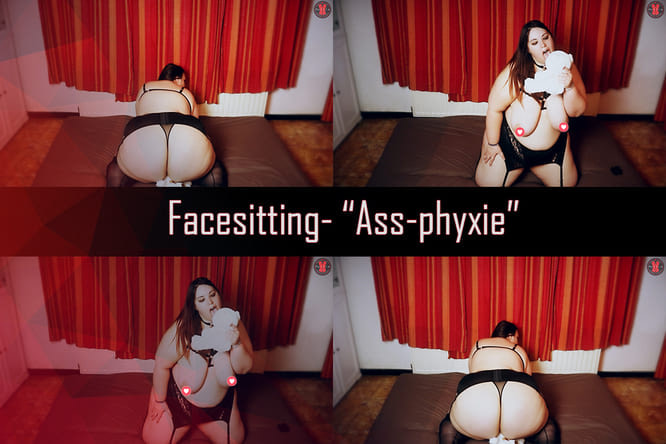 [Facesitting] Ass-phyxie