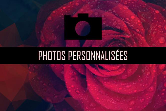 Photos personnalisées