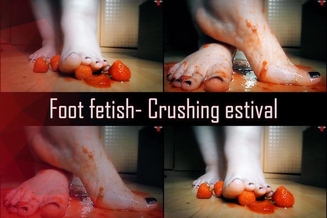 [Foot Fetish] Crushing estival