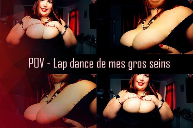 [POV] Lap dance de mes gros seins